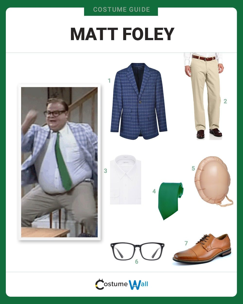 Matt Foley Costume Guide