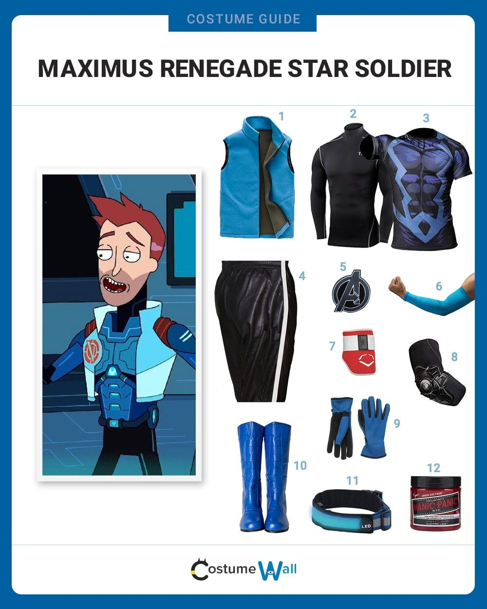 Maximus Renegade Star Soldier Costume Guide