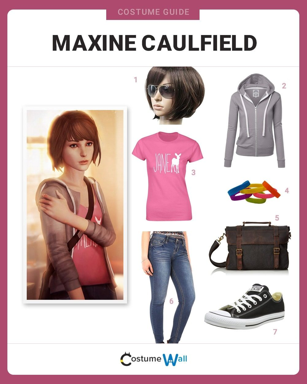 Maxine Caulfield Costume Guide