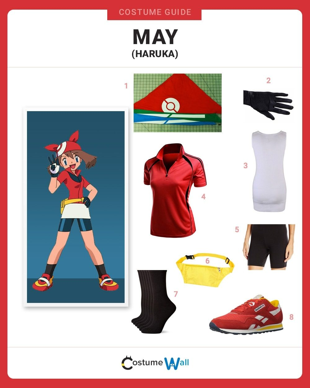 May (Haruka) Costume Guide