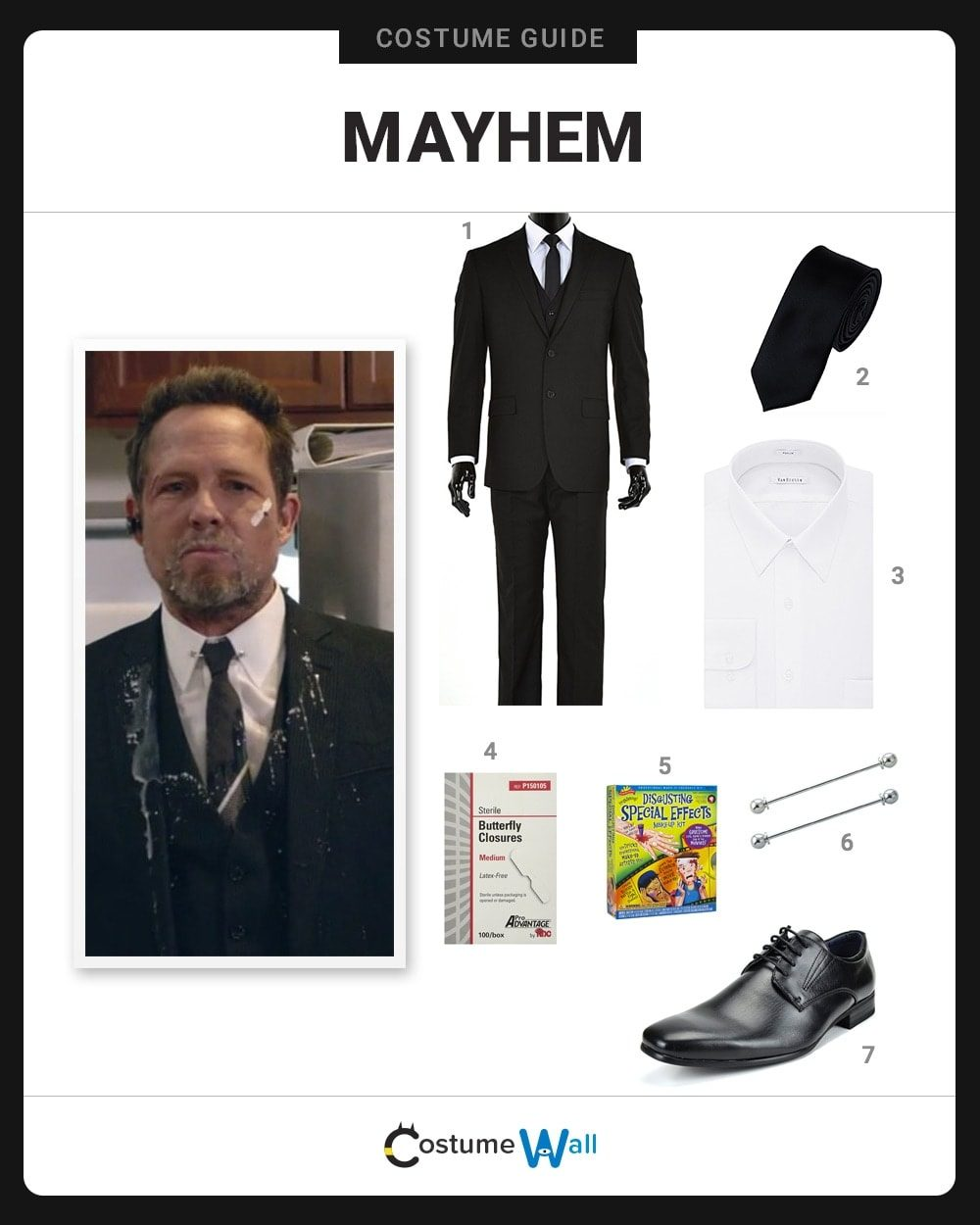 Mayhem Costume Guide