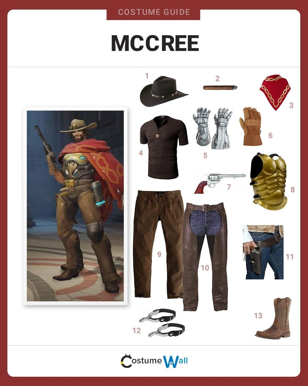McCree Costume
