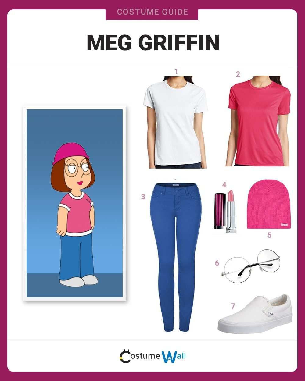 Meg Griffin Costume Guide