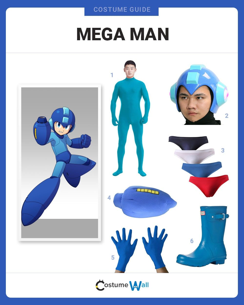 Mega Man Costume Guide