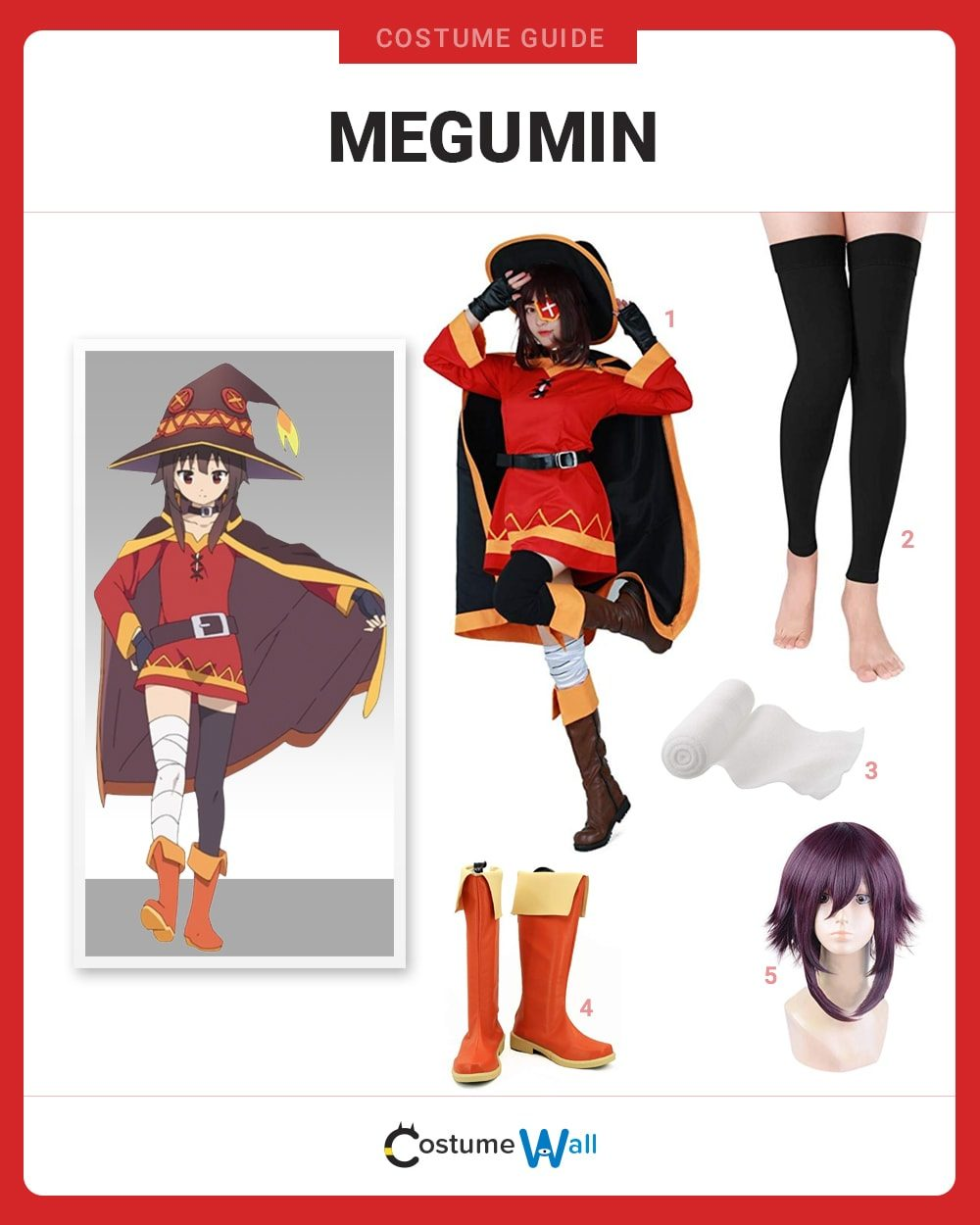 Megumin Costume Guide