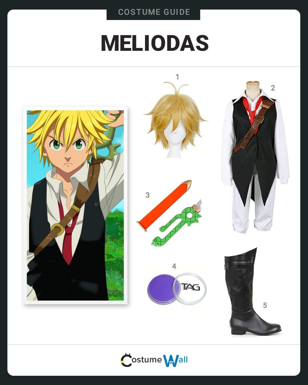 Dress Like Meliodas Costume  Halloween And Cosplay Guides-3163