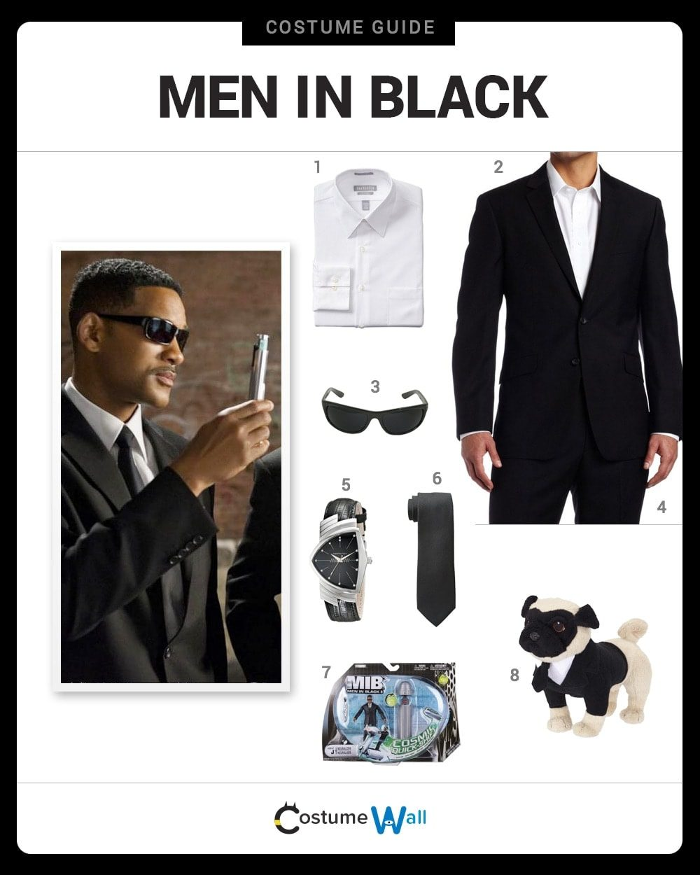 Men In Black Costume Guide