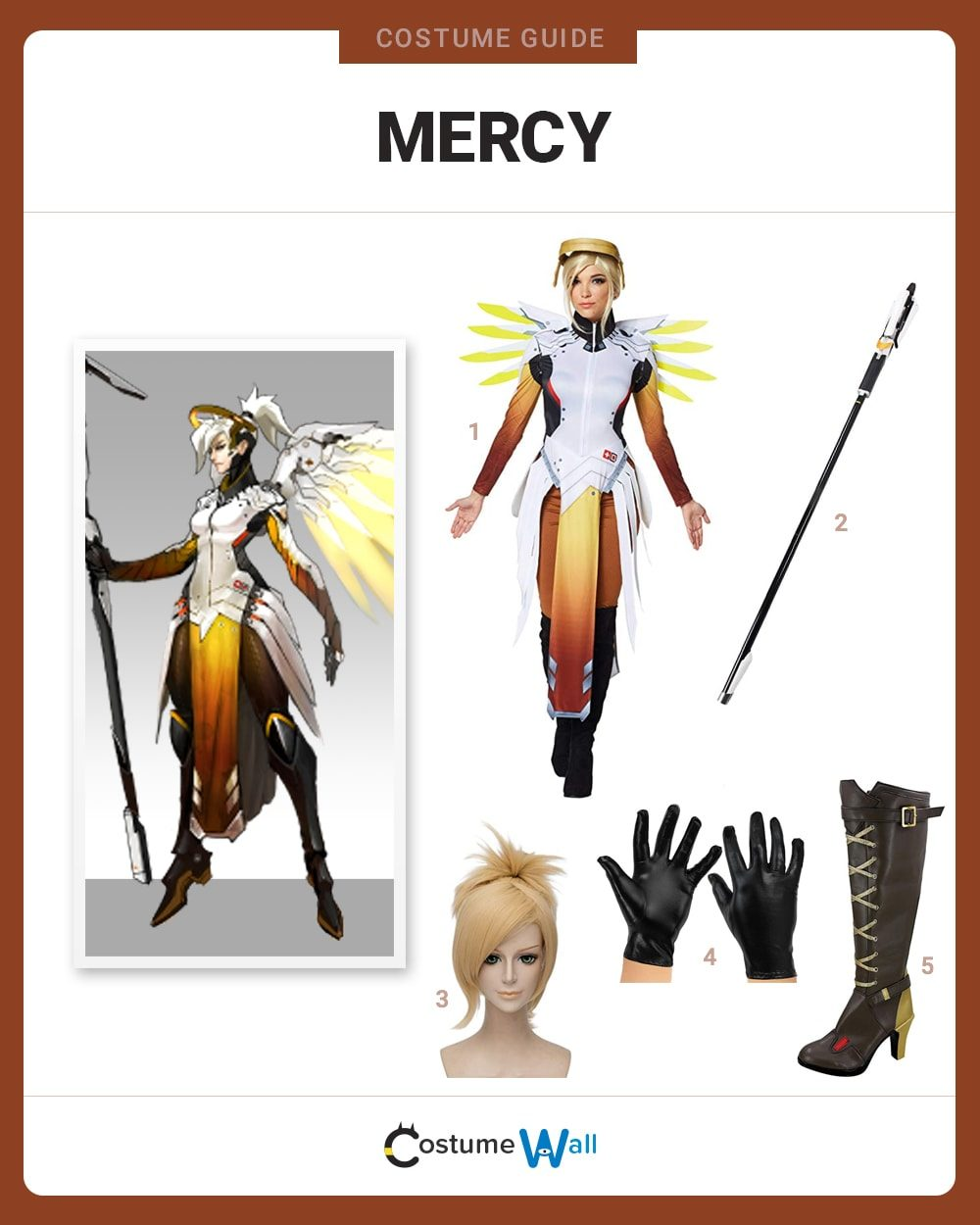 Mercy Costume Guide