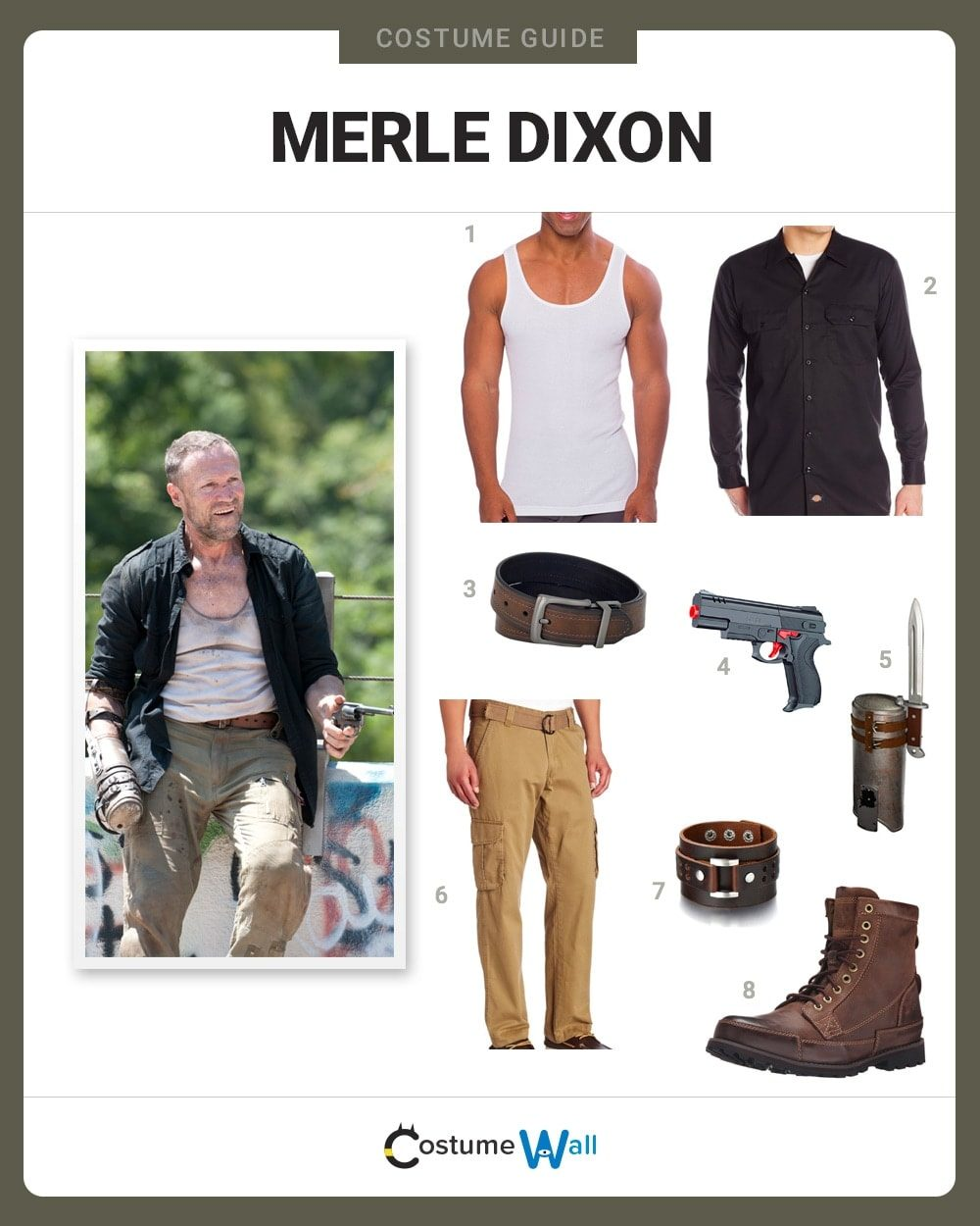 Merle Dixon Costume Guide