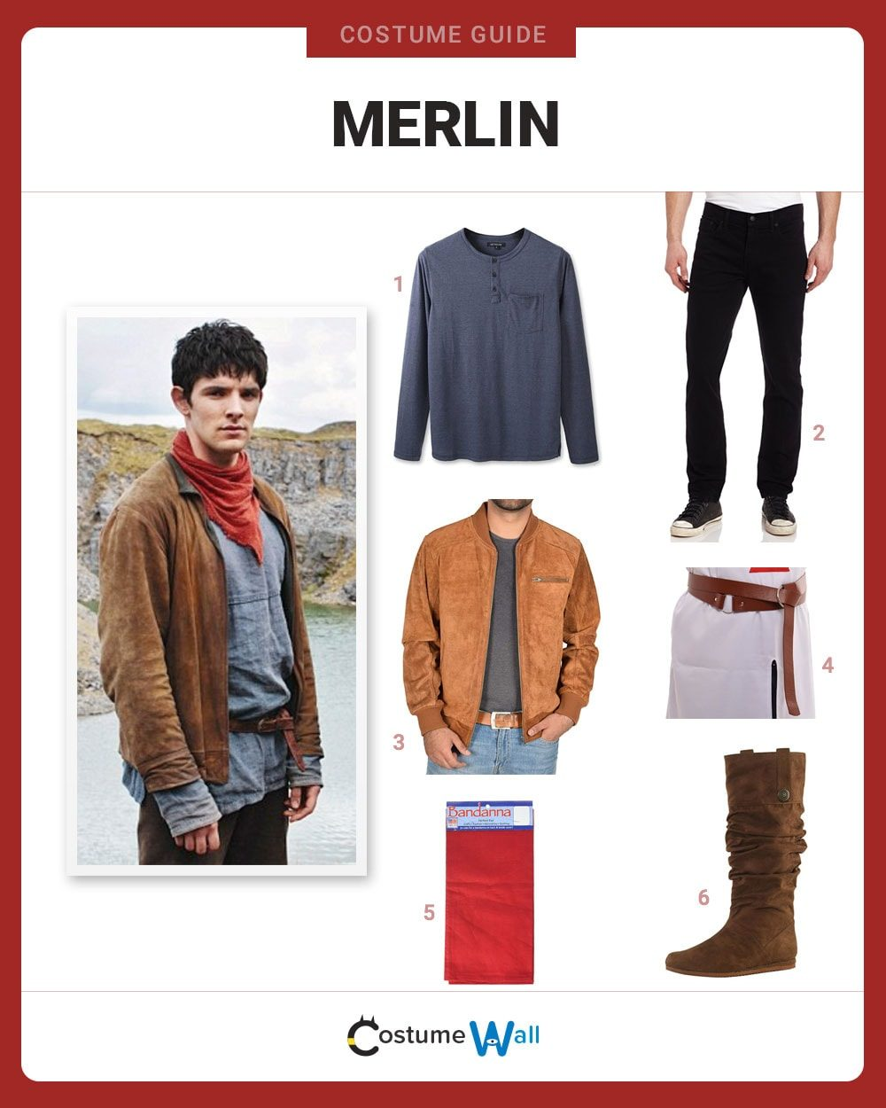 Merlin Costume Guide