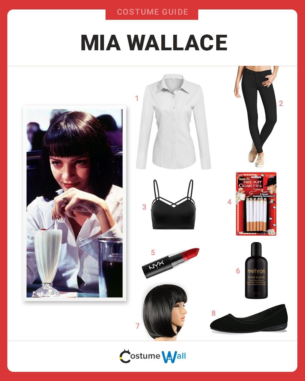 Mia Wallace Costume Guide