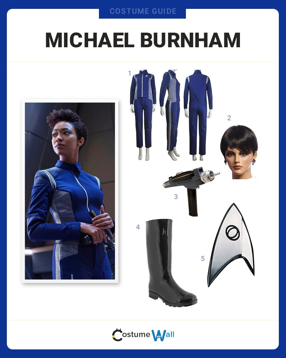 Michael Burnham Costume Guide