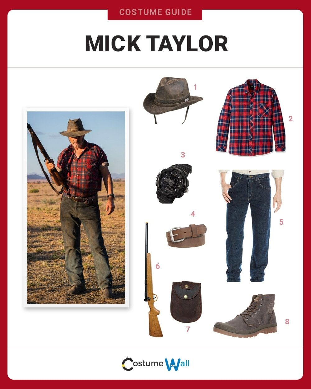 Mick Taylor Costume Guide