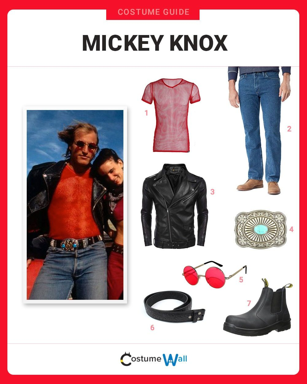 Mickey Knox Costume Guide