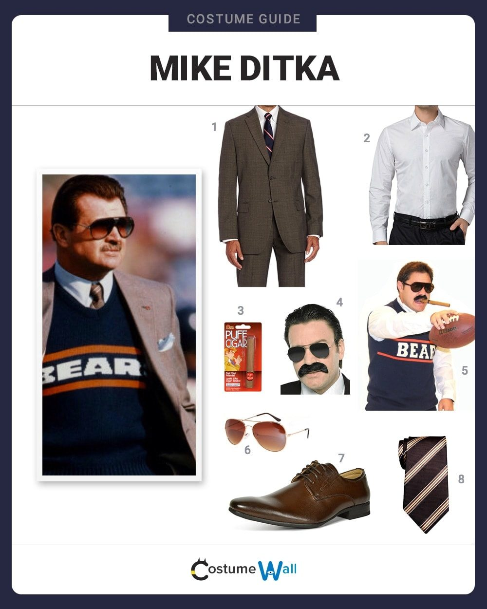 Mike Ditka Costume Guide