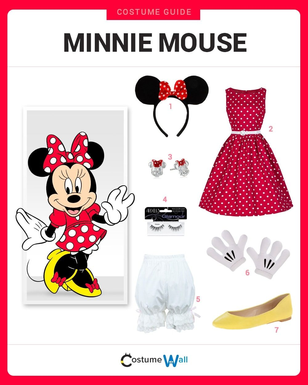 Minnie Mouse Costume Guide