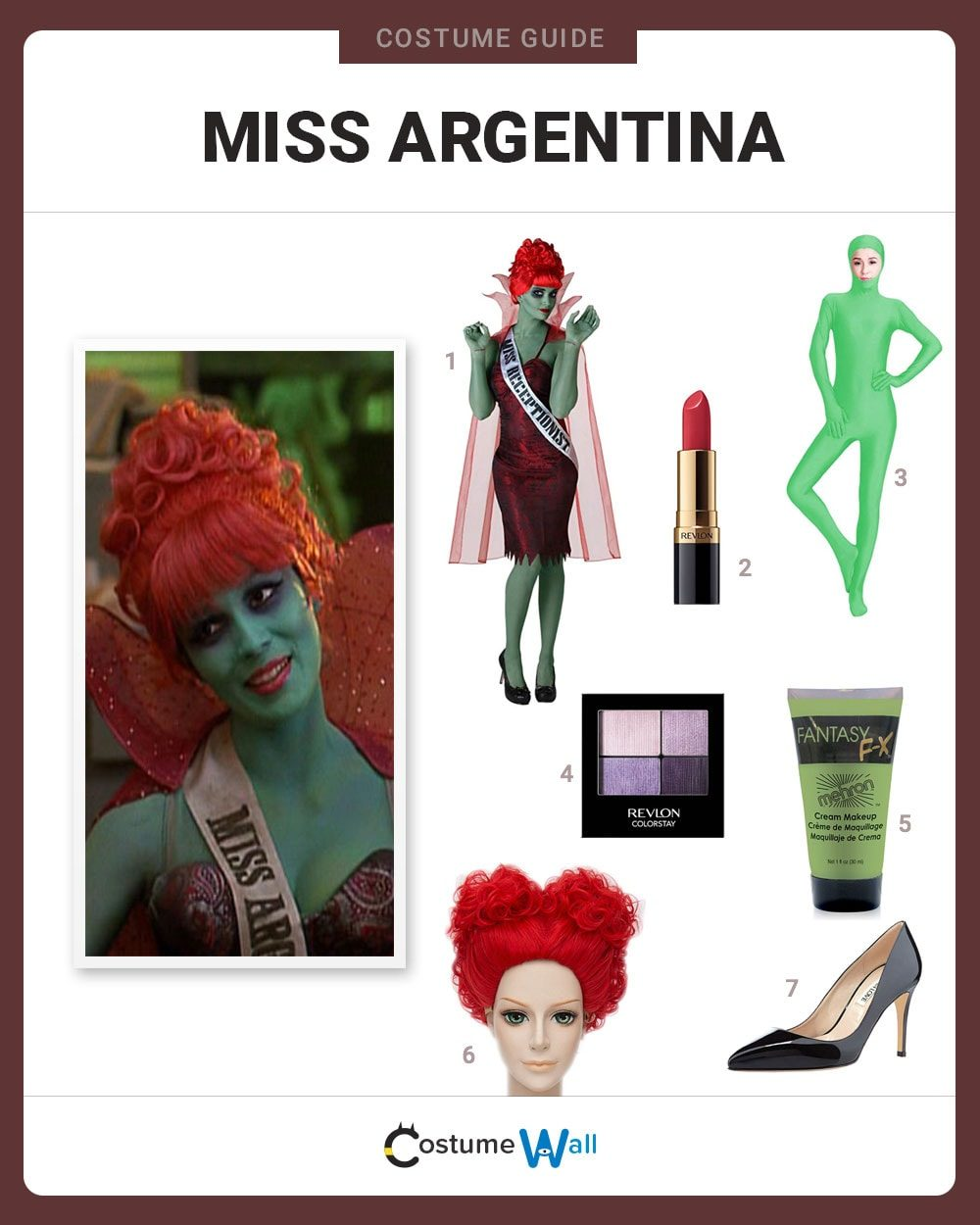 Miss Argentina Costume Guide