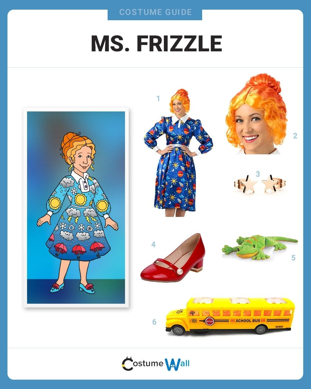 Ms. Frizzle Costume Guide