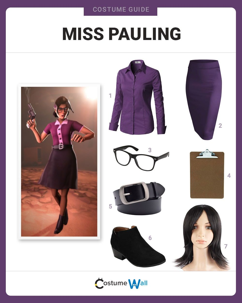 Miss Pauling Costume Guide