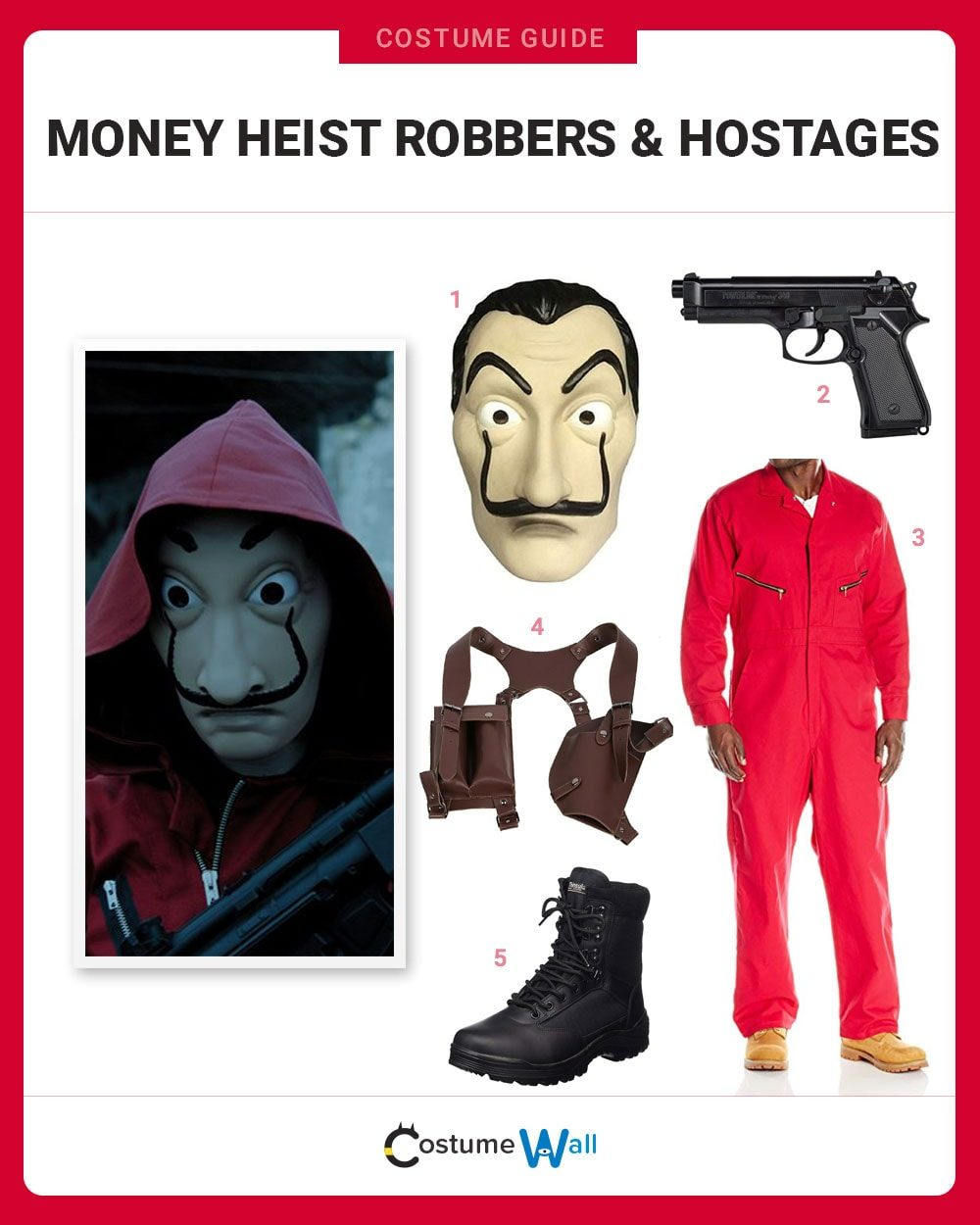 Money Heist Robbers Costume Guide