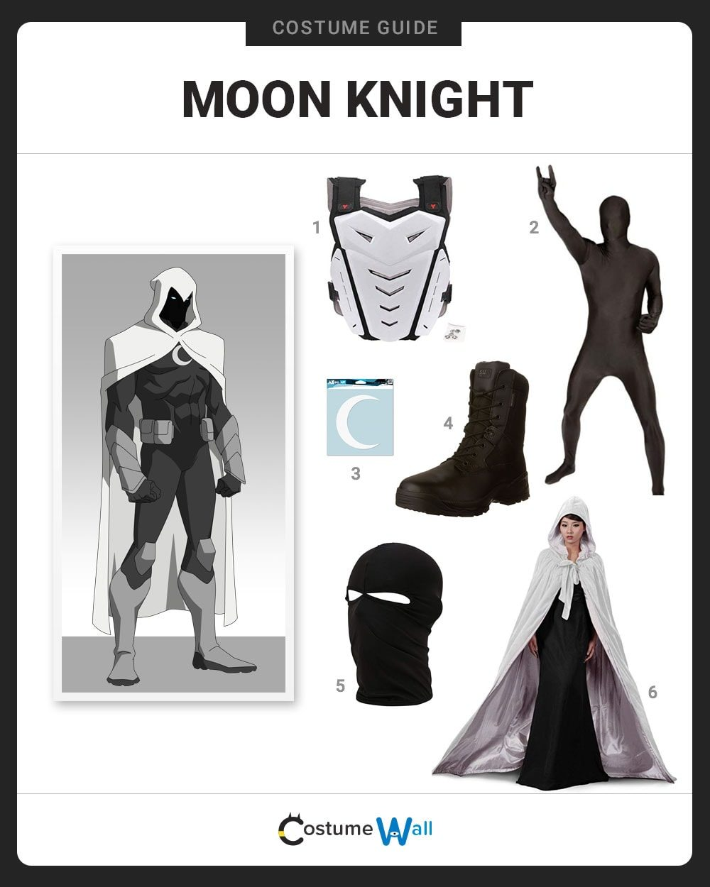 Moon Knight Costume Guide