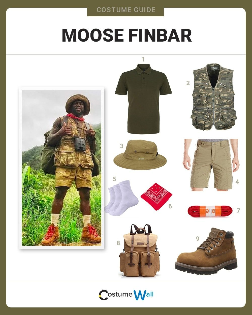 Dress Like Moose Finbar Costume Halloween And Cosplay Guides