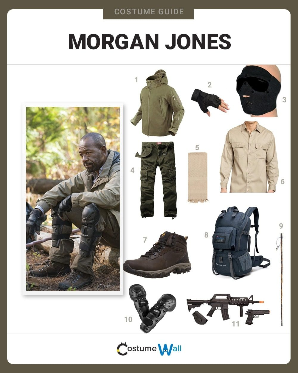 Morgan Jones Costume Guide