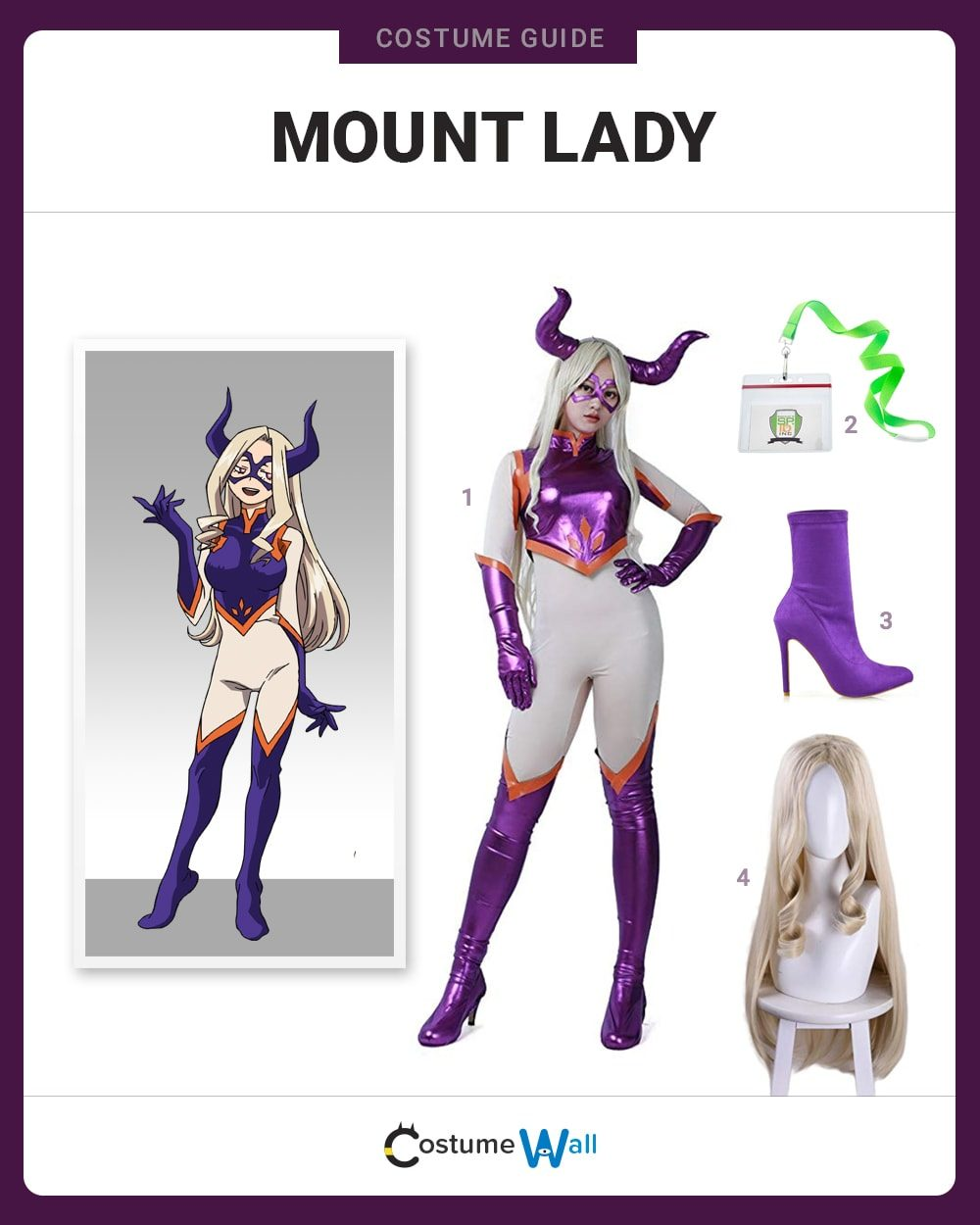 Mount Lady Costume Guide
