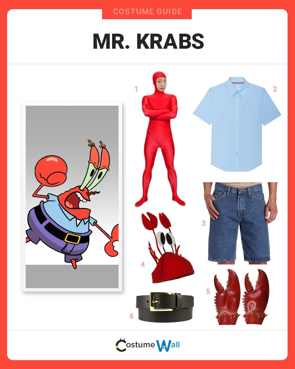 dress like mr krabs costume halloween and cosplay guides