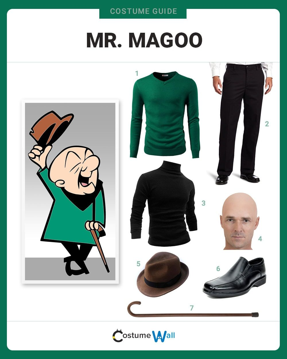 Mr. Magoo Costume Guide