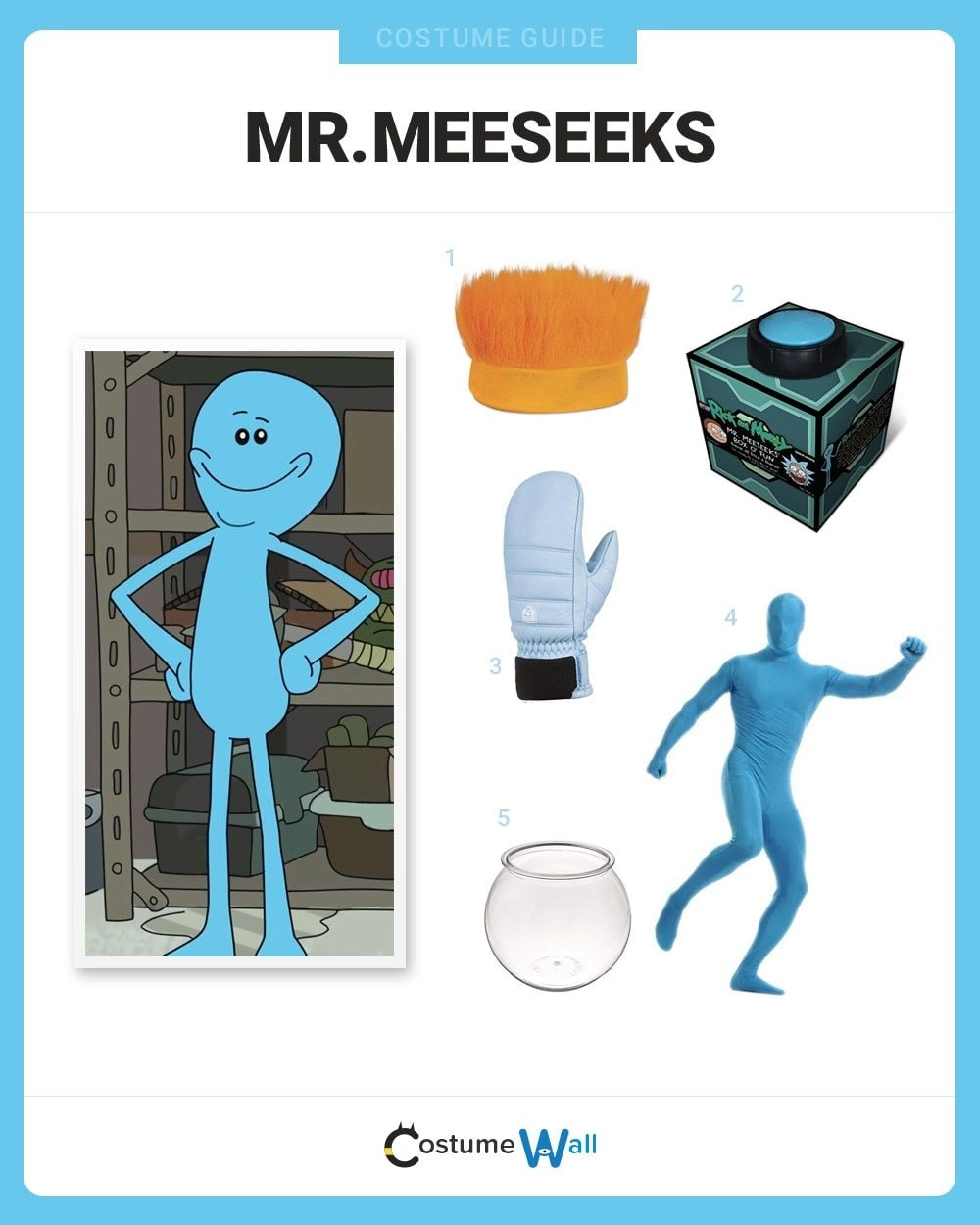 Mr. Meeseeks Costume Guide