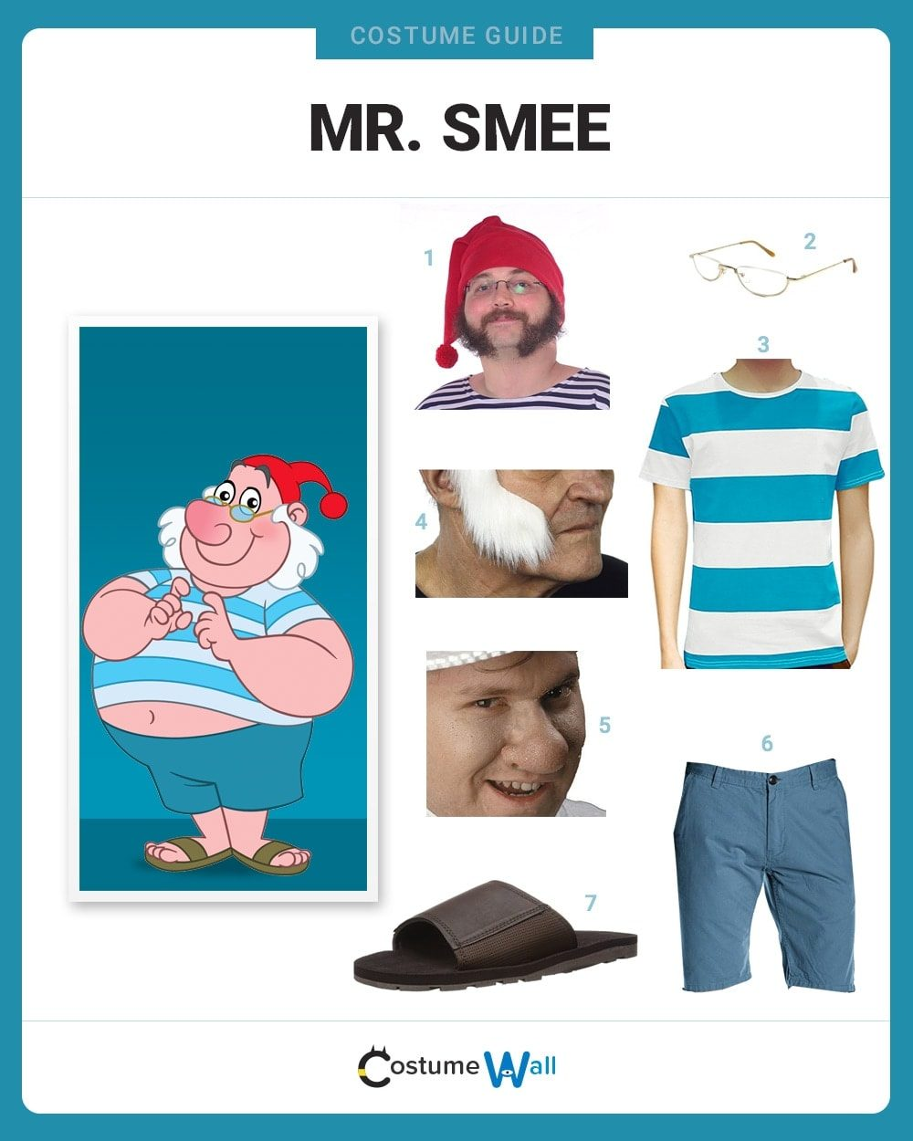 Mr. Smee Costume Guide