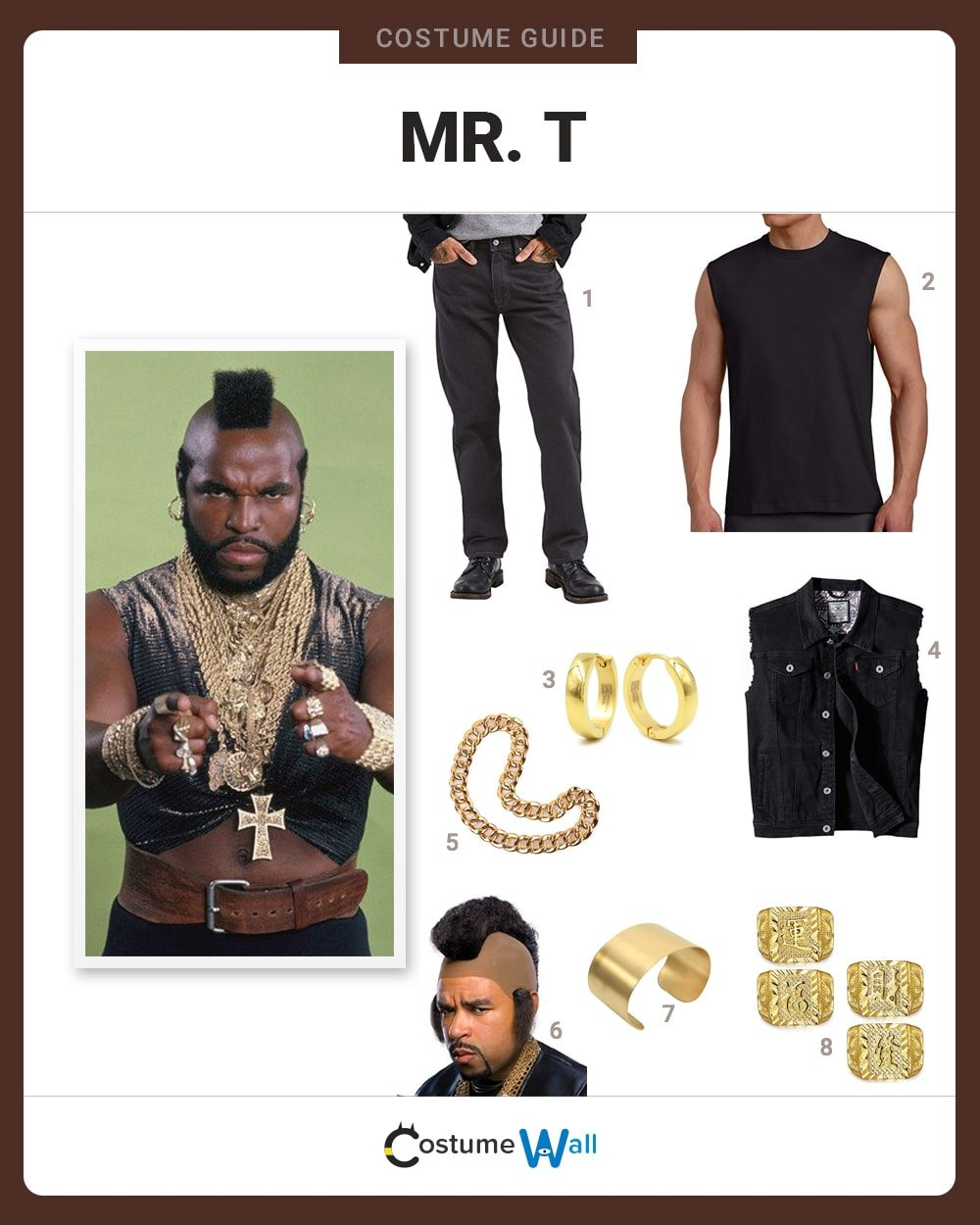 Mr. T Costume Guide