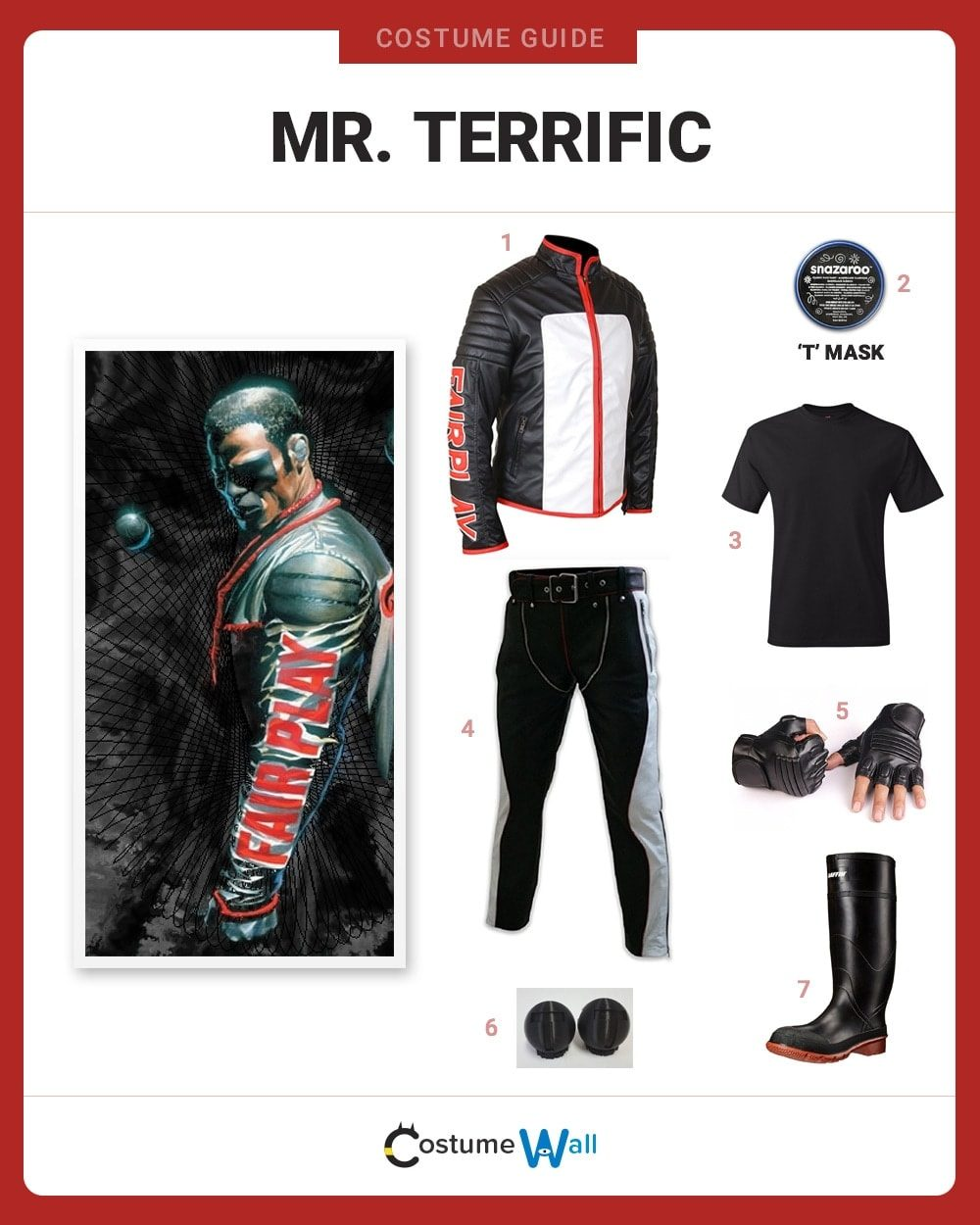 Dress Like Mr Terrific Costume Halloween And Cosplay Guides