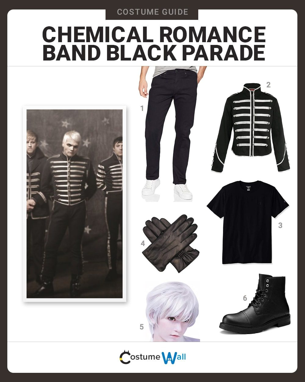 My Chemical Romance Costume Guide