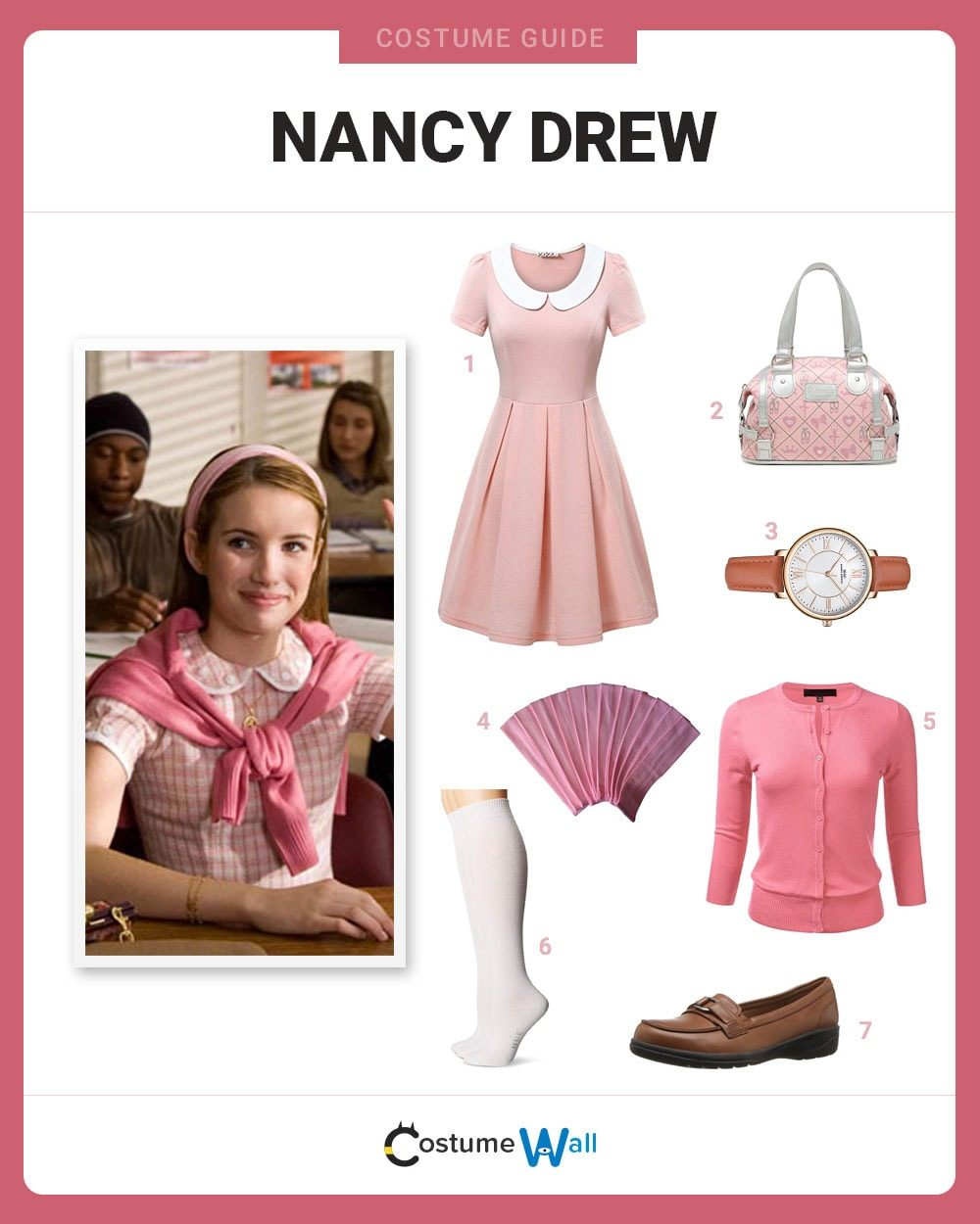 Nancy Drew Costume Guide