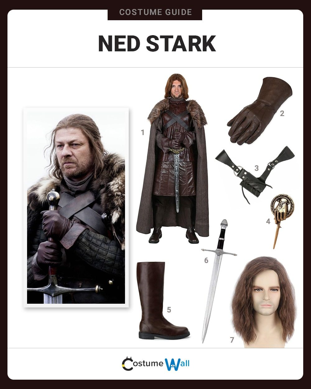 Ned Stark Costume Guide