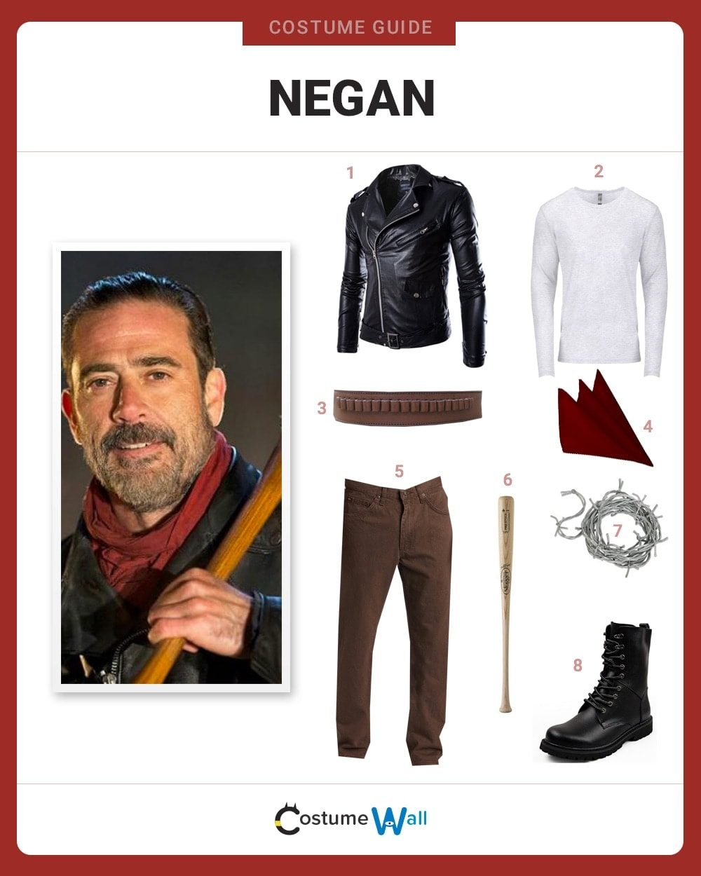Negan Costume Guide
