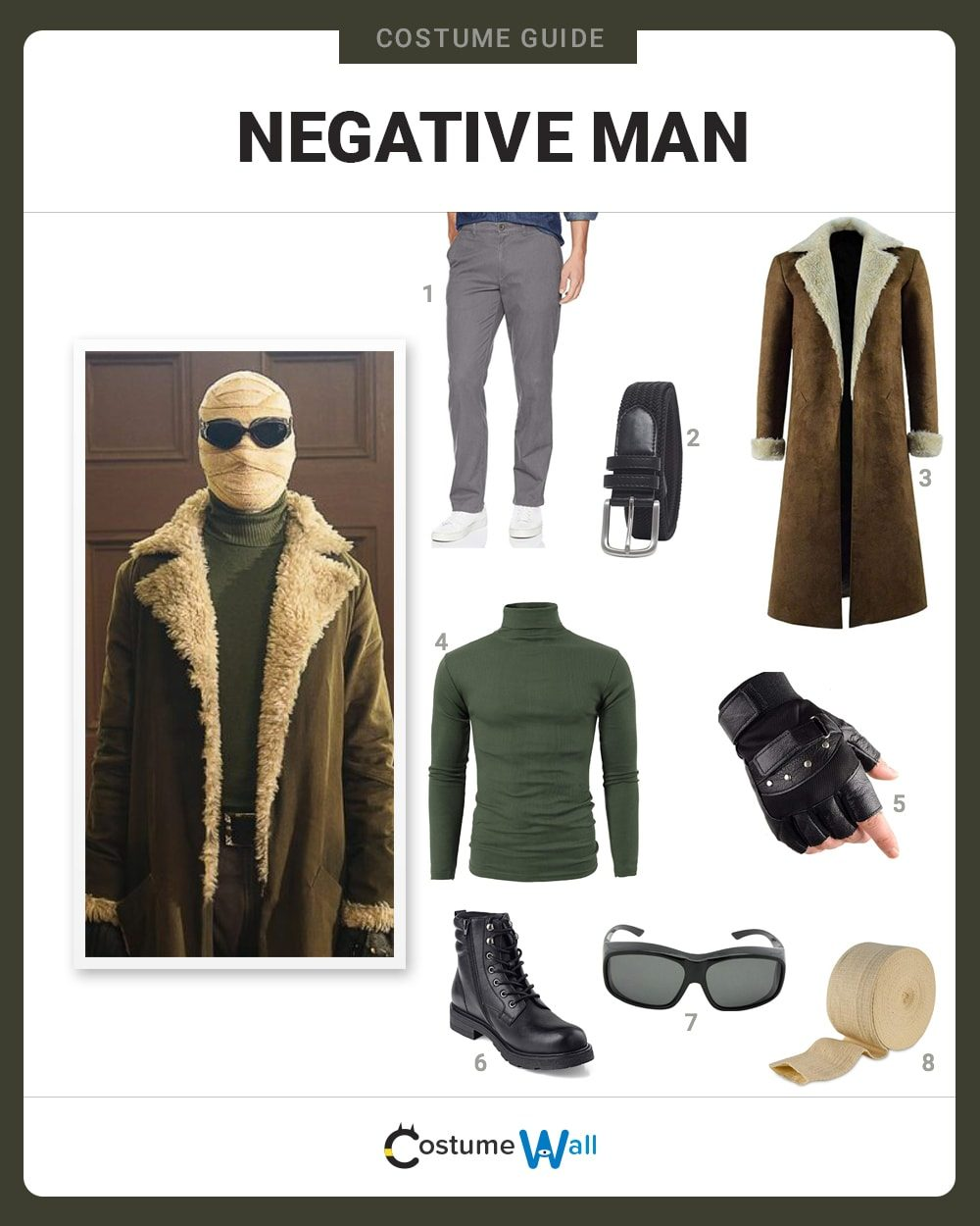 Negative Man Costume Guide