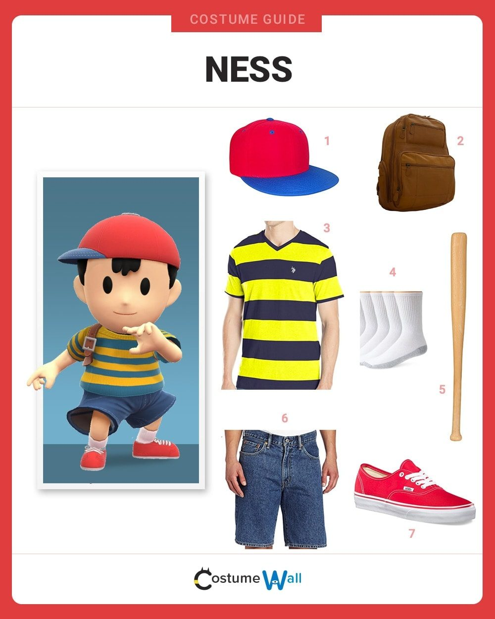 ness costume guide