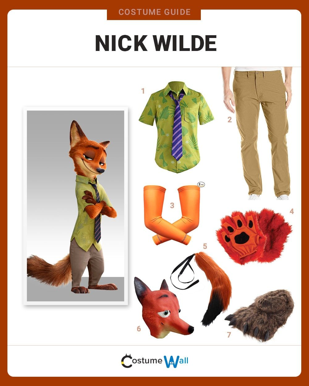 Nick Wilde Costume Guide