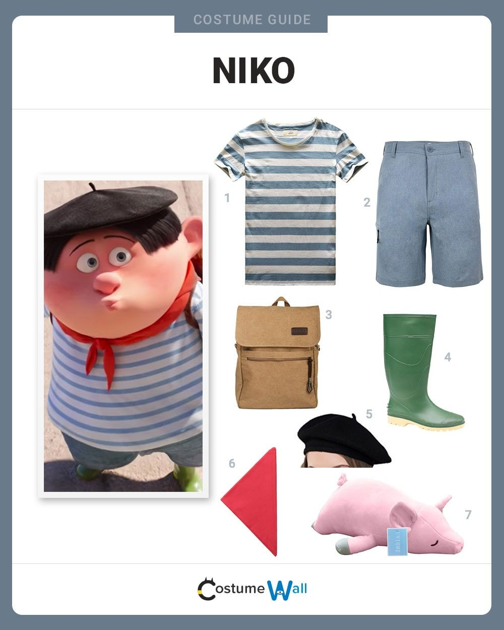 Niko Costume Guide