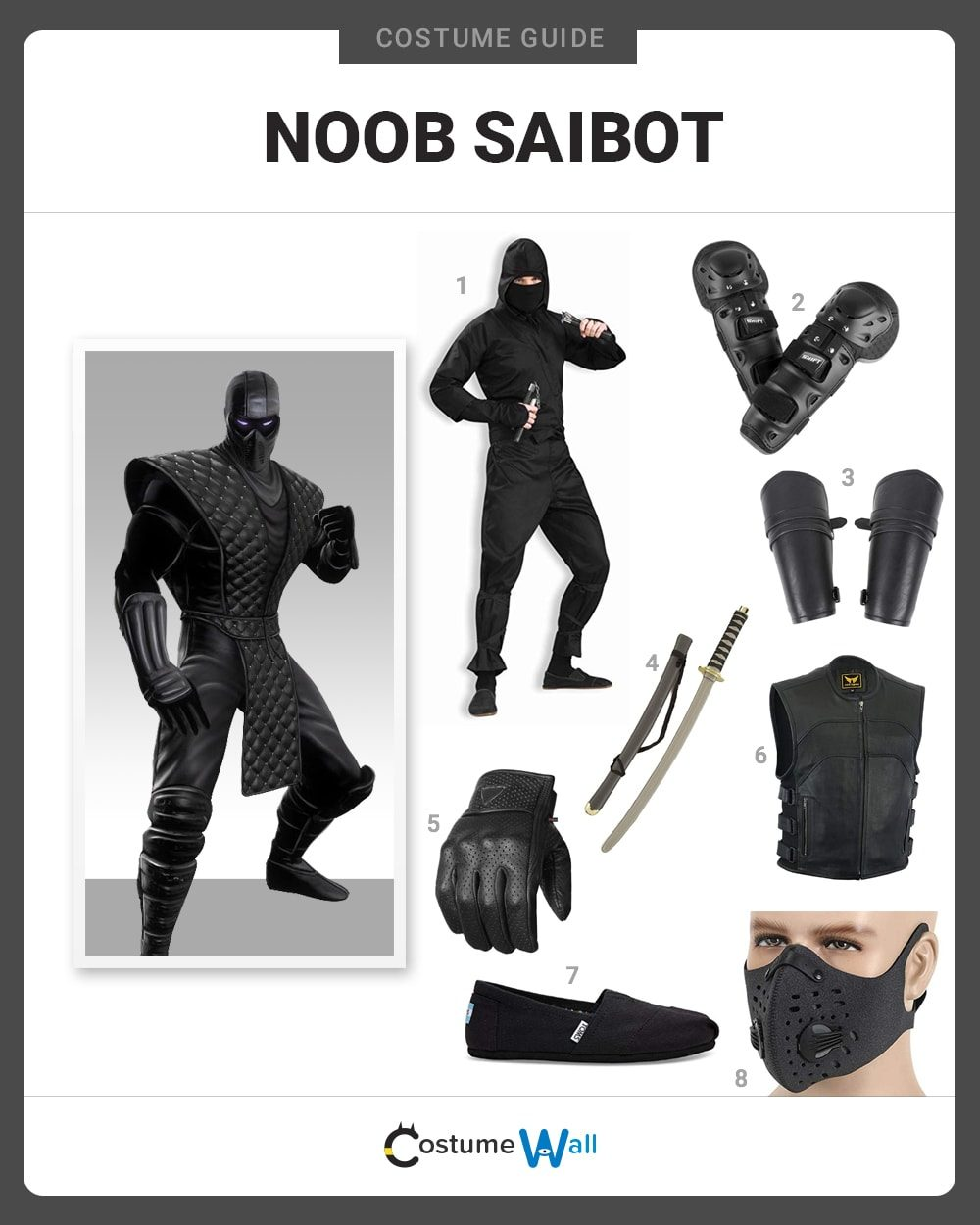 Noob Saibot Costume Guide