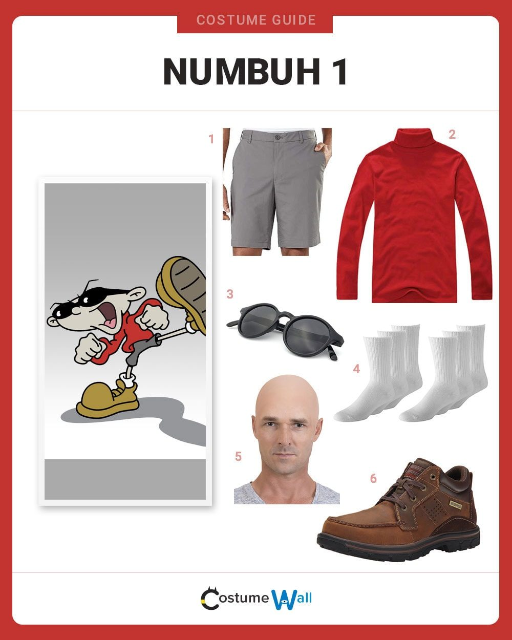 Numbuh 1 Costume Guide