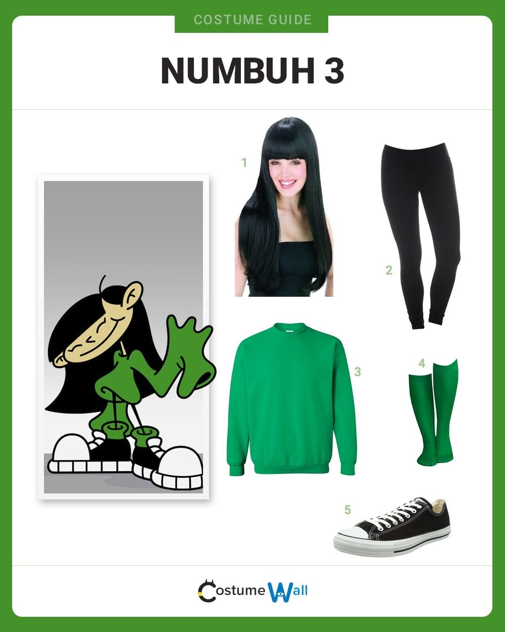 Numbuh 3 Costume Guide