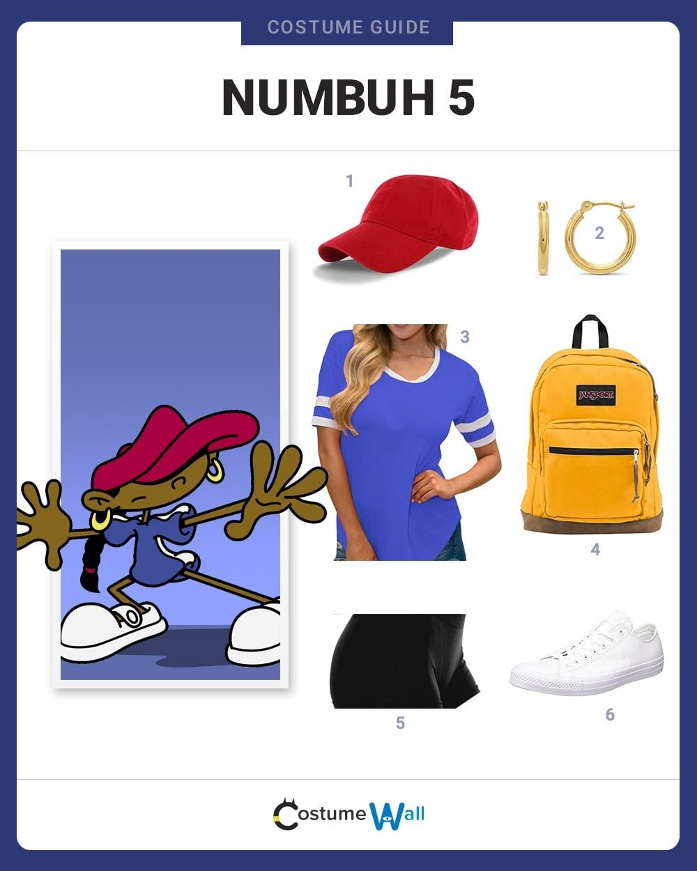 Numbuh 5 Costume Guide