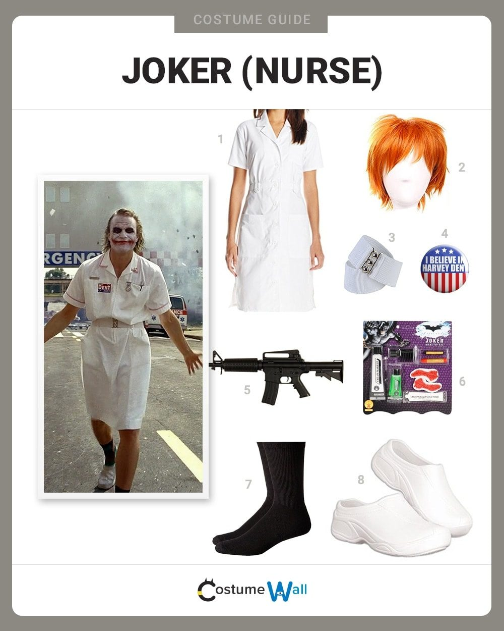 Nurse Joker Costume Guide