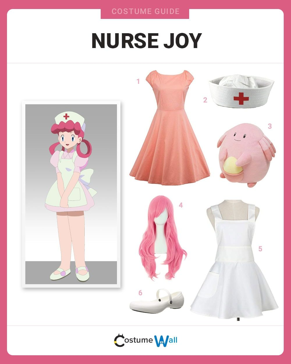 Nurse Joy Costume Guide