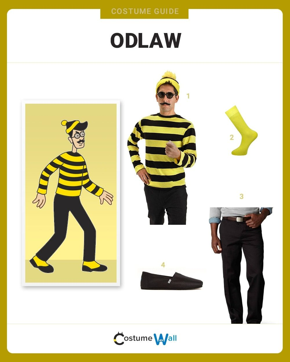 Odlaw Costume Guide