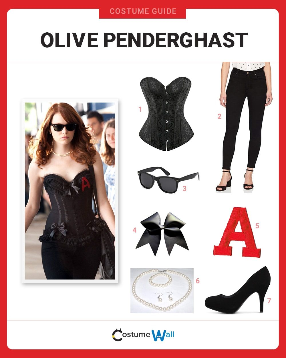 Olive Penderghast Costume Guide
